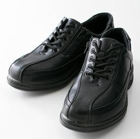 紳士靴 カジュアルシューズ 旅日和 (Tabibiyori) (メンズ) TB-7816 ブラック アシックス商事