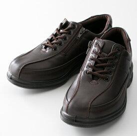 紳士靴 カジュアルシューズ 旅日和 (Tabibiyori) (メンズ) TB-7816 ダークブラウン アシックス商事