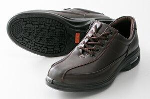 紳士靴カジュアルシューズ旅日和(Tabibiyori)(メンズ)TB-7816ダークブラウンアシックス商事