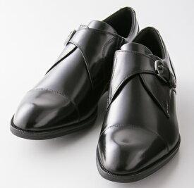紳士靴 ビジネスシューズ texcy luxe (テクシーリュクス) TU-7004 ブラック アシックス商事