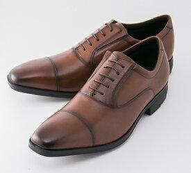 紳士靴 texcy luxe(テクシーリュクス) TU-7010 ブラウン ビジネスシューズ アシックス 【送料無料(一部地域を除く)】