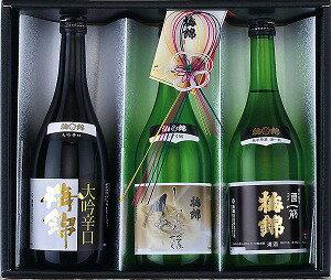 梅錦山川 梅錦 麗しの酒合わせ 720ml×3 |4951833019034:食品(直)