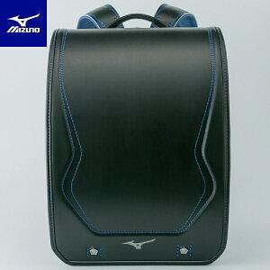 ランドセル 男の子 ミズノ MIZUNO フィットちゃん ブラック×ブルー 黒 青 K3JR8001 | 2020年 スポーツ ブランド A4 フラットファイル対応 マチ幅 12cm 反射 安心 安全 丈夫 耐久 キズがつきにくい 入