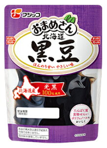 フジッコ おまめさん北海道黒豆(G) 118g まとめ買い(×10)