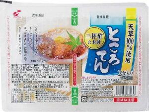関越物産 ところ天2食入 三杯酢(G) 130g×2 まとめ買い(×16)