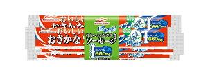 マルハ 1秒OPENおいしいおさかなソーセージ4本束 70g×4 まとめ買い(×30)