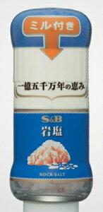 S&B 岩塩 ミル付き 40g まとめ買い(×5)