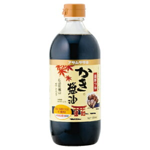 アサムラサキ かき醤油 600ml まとめ買い(×6)