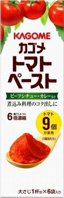 カゴメ トマトペーストミニパック 18g×6 まとめ買い(×5)|4901306015209(dc)