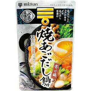 ミツカン 〆まで美味しい 焼あごだし鍋つゆ 750g まとめ買い(×12)