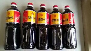 丸福醤油 味自慢 1L まとめ買い(×5)