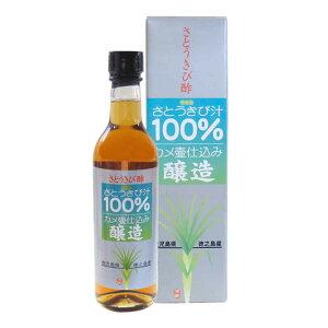 黒酢の杜 さとうきび酢 360ml まとめ買い(×3)
