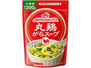 味の素 丸鶏がらスープ 袋 200g まとめ買い(×7)