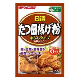 日清フーズ たつ田揚げ粉まぶしタイプ 100g まとめ買い(×10)|4902110316216(dc)