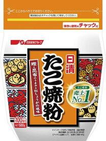 日清フーズ たこ焼粉 500g まとめ買い(×12)