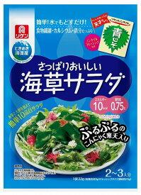 リケン さっぱりおいしい海草サラダ 青じそ 25g+8g まとめ買い(×10)