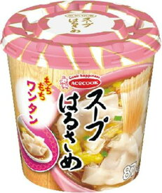 エースコック スープはるさめ ワンタン 24g まとめ買い(×6)