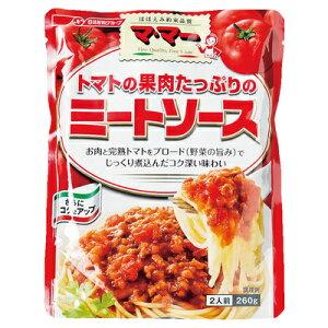 マ・マー トマト果肉たっぷりミートソース 260g まとめ買い(×6)