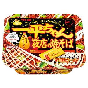 明星 一平ちゃん 夜店の焼そば 135g まとめ買い(×12)