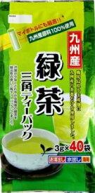 寿老園 九州産緑茶TB 3G×40P まとめ買い(×5)