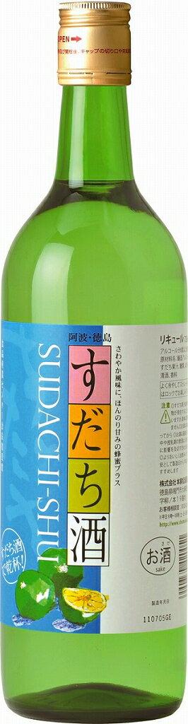 松浦酒造 鳴門鯛 すだち酒 720ml|4990734420051(tc)
