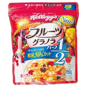 ケロッグフルーツグラノラハーフ徳用袋500gまとめ買い(×6)|4901113420999:菓子(c1-tc)