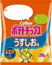 カルビー ポテトチップスうすしお味小袋 28g まとめ買い(×24)|4901330502904(dc)