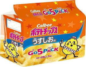 ポテトチップス うすしお味 ゴー5パック 8個