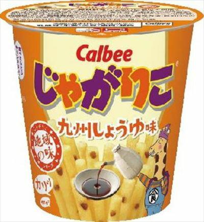カルビー じゃがりこ九州しょうゆ味 52g まとめ買い(×12) 4901330576059:菓子(c1-tc)