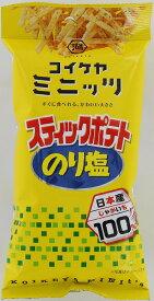 湖池屋 ミニッツスティックポテトのり塩 40g まとめ買い(×6)