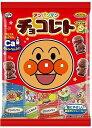 不二家 アンパンマンチョコレート 69g まとめ買い(×10) 4902555164434:菓子(c...