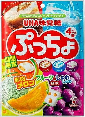 味覚糖 ぷっちょ4種アソート 98g まとめ買い(×6)|4902750870222:菓子(c1-tc)