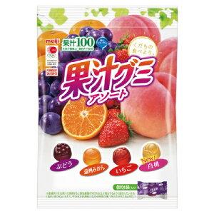 明治 果汁グミアソート個包装 90g まとめ買い(×6)|4902777005607(dc)