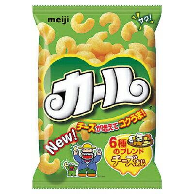明治 カールチーズあじ 64g まとめ買い(×10)|4902777010229:菓子(c1-tc)