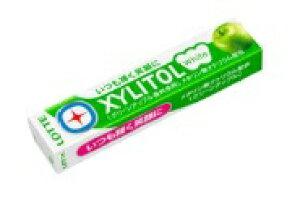 ロッテ キシリトールホワイトグリーンアップル 14粒 まとめ買い(×20)|0000045205019(tc)(049840)