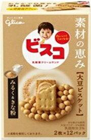 グリコ ビスコ素材の恵み大豆みるく&きな粉 24枚 まとめ買い(×5)|4901005532052(tc)(049840)
