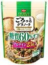 日清シスコ ごろっとグラノーラ3種の大豆糖質60%オフ 360g まとめ買い(×6)
