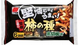 三幸製菓  三幸の堅焼柿の種 黒胡椒味 182g まとめ買い(×12)