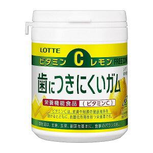 ロッテ 歯につきにくいガムレモンボトル 138g まとめ買い(×6)