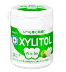 ロッテ キシリトールホワイトグリーンアップル 143g まとめ買い(×6)|4903333257966(tc)(049840)