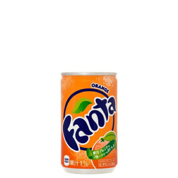 【エントリーでポイント5倍! 〜6/21 01:59まで】ファンタオレンジ 160ml缶 ケース 30本入り(送料無料)|4902102035439(ds11758-G)