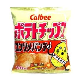 カルビー ポテトチップスコンソメパンチ 60g まとめ買い(×12)