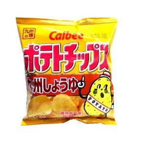 カルビー ポテトチップス九州しょうゆ 58g まとめ買い(×12)