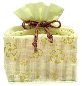【マルヤス】トコゼリー巾着袋 6個入り 花便り(グリーン)|41148 :食品(直)