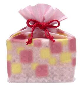 送料無料 【マルヤス】トコゼリー巾着袋 6個入り ほのか(ピンク)|41168|