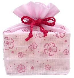 【マルヤス】トコゼリー巾着袋 6個入り 花便り(ピンク)|41138 :食品(直)