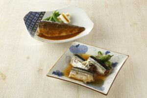 なすび亭 吉岡英尋監修 便利な常温煮魚2種5000 (トンソンジャパン)(stk-247-43199)| 魚 魚介類 惣菜 水産加工品 お惣菜