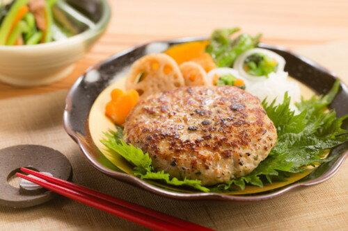 なすび亭 吉岡英尋監修 国産肉の和風生ハンバーグ 塩麹と大葉仕立て6個 トンソンジャパン|43219:惣菜・インスタント