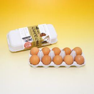 (送料込み) たなべ森の鶏舎 平飼い有精卵 たなべのたまご 20個 お歳暮 卵 山陰お取り寄せ(産地直送)