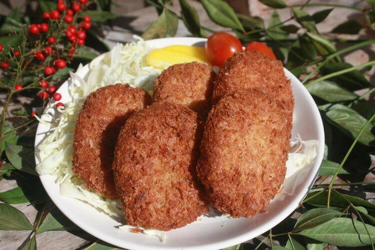 猪 肉コロッケ4個入り ゆすはらジビエの里 高知県 梼原 ジビエ イノシシ シカ 精肉|91029:肉加工品